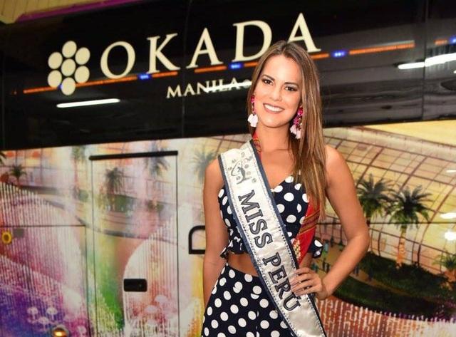 Hoa hậu Peru đã có mặt tại Philippines