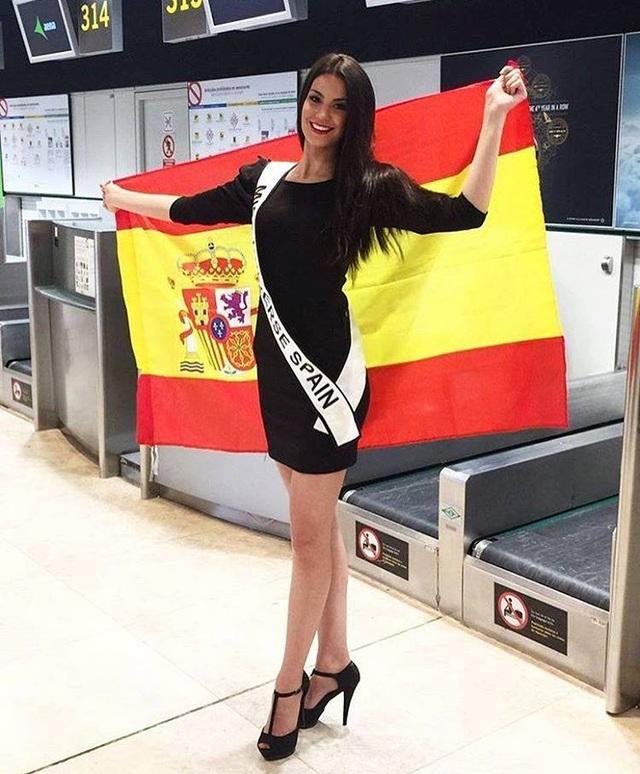 Hoa hậu Tây Ban Nha tới Philippines tham dự Hoa hậu hoàn vũ 2016