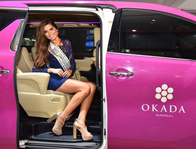 Hoa hậu Argentina - Estefania Bernal đã tới Manila tham dự cuộc thi Hoa hậu Hoàn vũ 2016