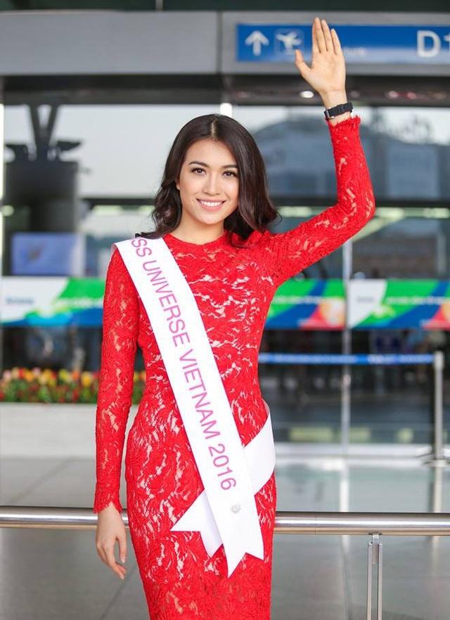 Lệ Hằng của Việt Nam cũng đã có mặt tại Philippines để tham dự Hoa hậu hoàn vũ 2016