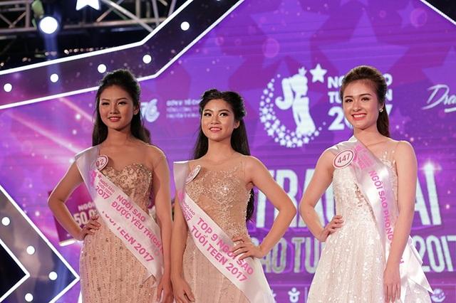 Top 3 chung cuộc Nguyễn Bùi Nam Phương, Đỗ Thị Huệ, Đặng Nguyễn Phương Nghi