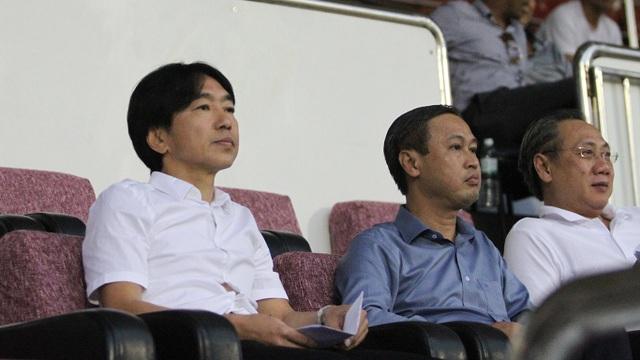 HLV Miura nếu dẫn dắt CLB TPHCM cần được toàn quyền trong việc chọn lựa nhân sự cho mùa bóng mới (ảnh: Trọng Vũ)