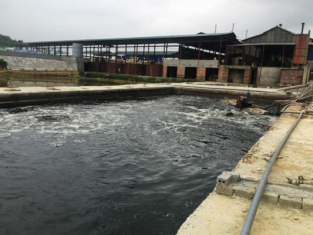 Hệ thống xử lý nước thải hoạt động không thường xuyên