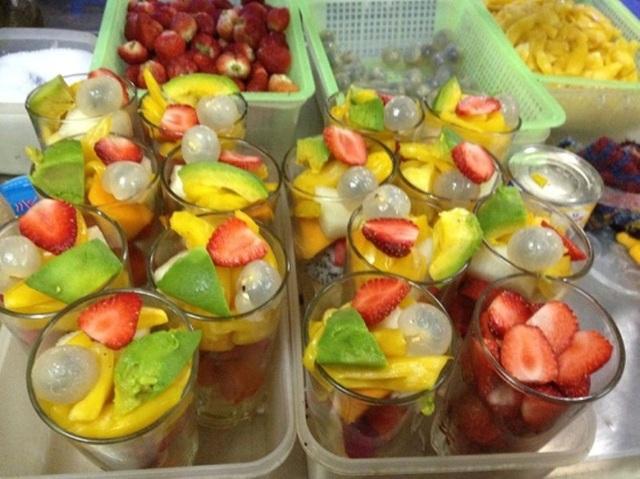 Các loại trái cây sẽ đem đến cảm giác mát lạnh, thư thái cho ngày hè nóng bức.