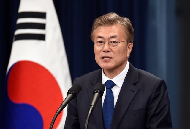 Tân thổng thống Hàn Quốc Moon Jae-in
