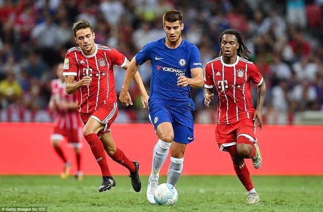 Morata có trận ra mắt Chelsea