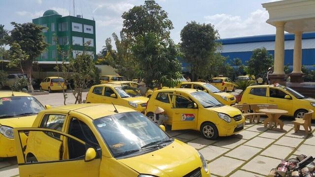 Xe Kia Morning số sàn thường được các hãng taxi sử dụng. Ảnh minh họa