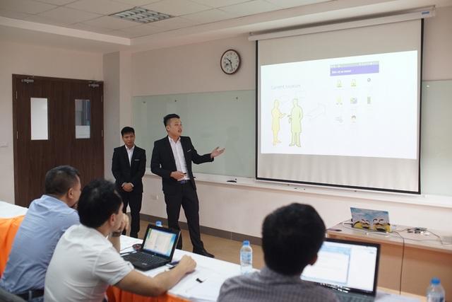 Motor Security là sản phẩm đồ án tốt nghiệp của hai sinh viên Trần Công Nguyện và Trần Đức Hạnh (Tổ chức Giáo dục FPT).