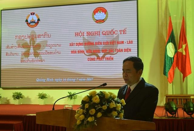 Chủ tịch Ủy ban Trung ương MTTQ Việt Nam Trần Thanh Mẫn phát biểu chào mừng Hội nghị