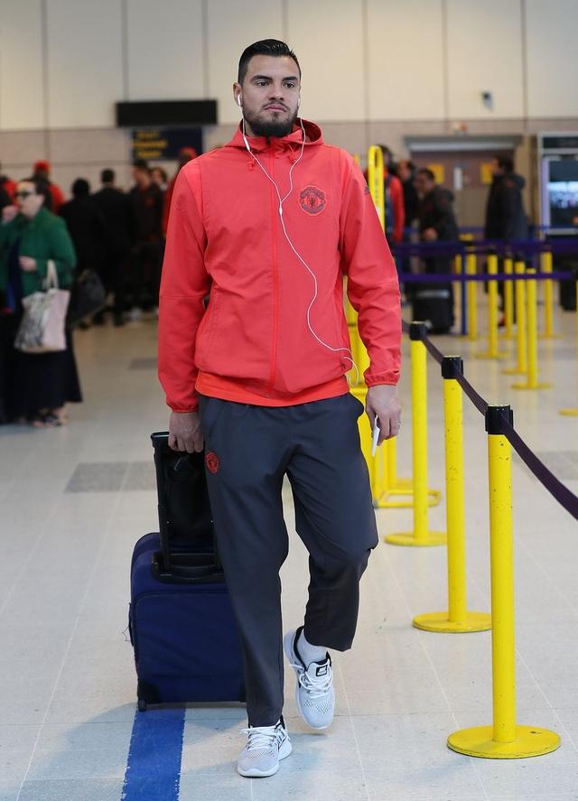 Thủ thành Sergio Romero, thủ môn chính của MU ở đấu trường Europa League