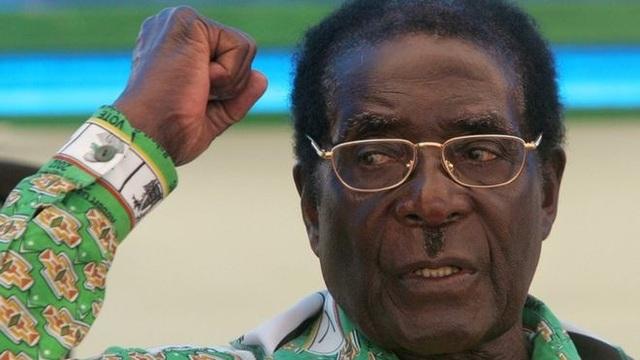 Cựu Tổng thống Zimbabwe Robert Mugabe. (Ảnh: AFP)