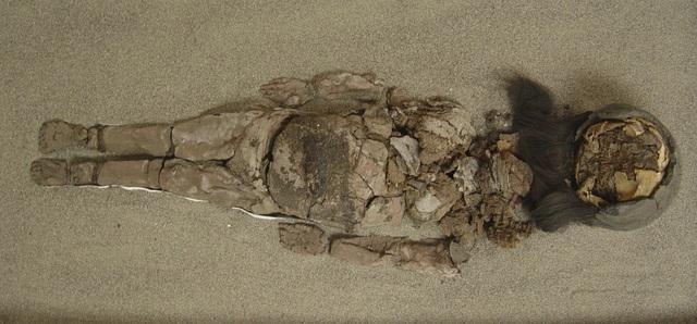 Người Chinchorro tiến hành ướp xác cho cả cộng đồng, không giới hạn già trẻ gái trai. Điều này khác hẳn với người Ai Cập cổ đại