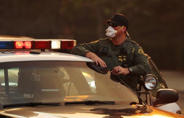 Hàng nghìn lính cứu hỏa đã được huy động để đối phó với đám cháy.