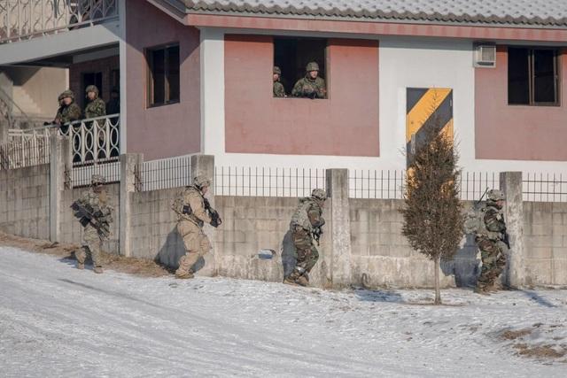 Quân đội Mỹ cho biết cuộc tập trận tập trung vào việc phối hợp tác chiến giữa các đơn vị của Mỹ và Hàn Quốc nhằm thực hành kỹ năng phá hủy vũ khí hủy diệt hàng loạt (WMD) của Triều Tiên.