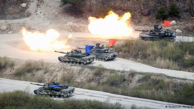 Triều Tiên đề nghị Hội đồng Bảo an Liên Hợp Quốc họp khẩn để phản đối cuộc tập trận chung Mỹ-Han. (Ảnh minh họa: Reuters)