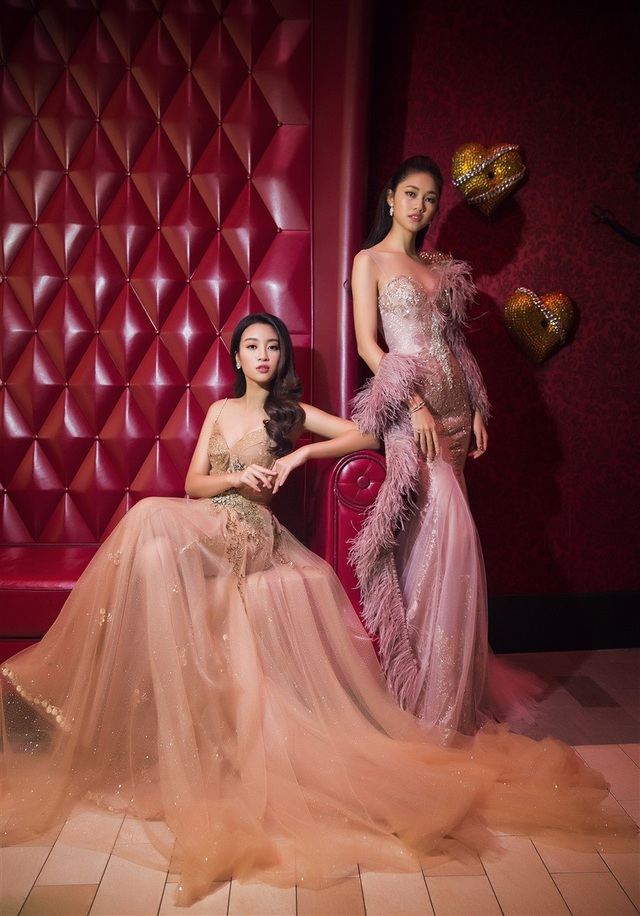 Hoa hậu Mỹ Linh, Á hậu Thanh Tú đọ dáng gợi cảm - 13