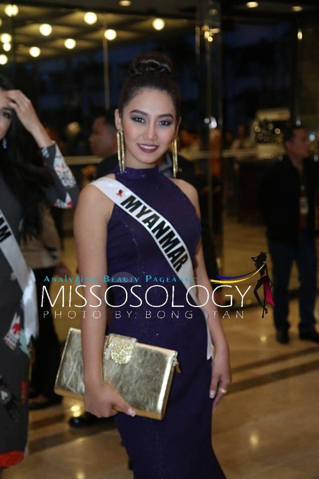 Lệ Hằng và các mỹ nhân khoe sắc trong tiệc tri ân Hoa hậu hoàn vũ 2015 - 66