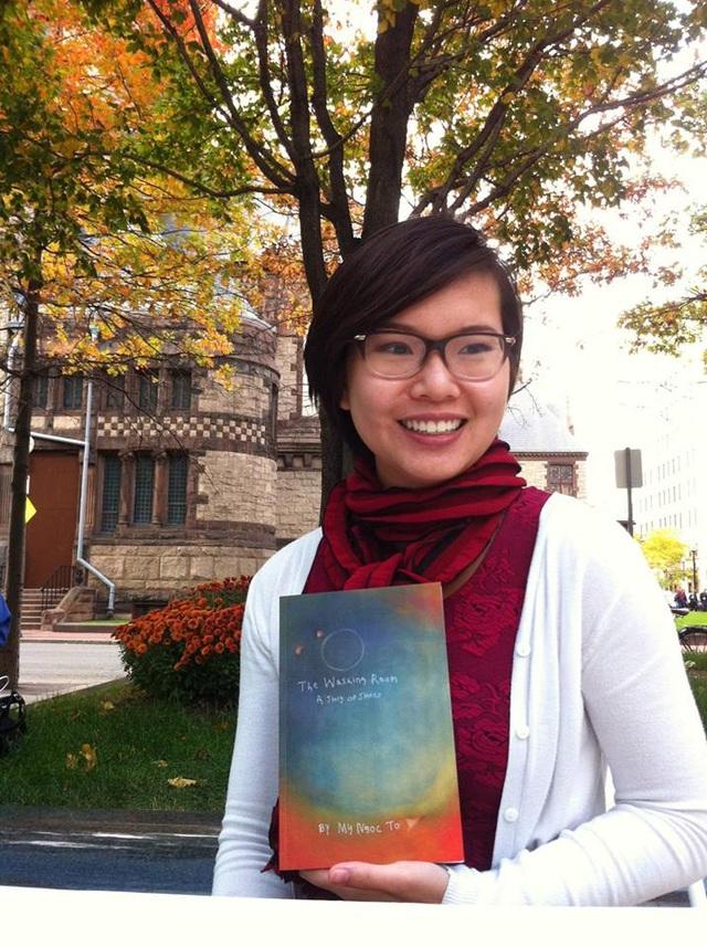 Yêu thích viết văn, Mỹ Ngọc từng xuất bản một cuốn sách khi còn là SV Harvard.