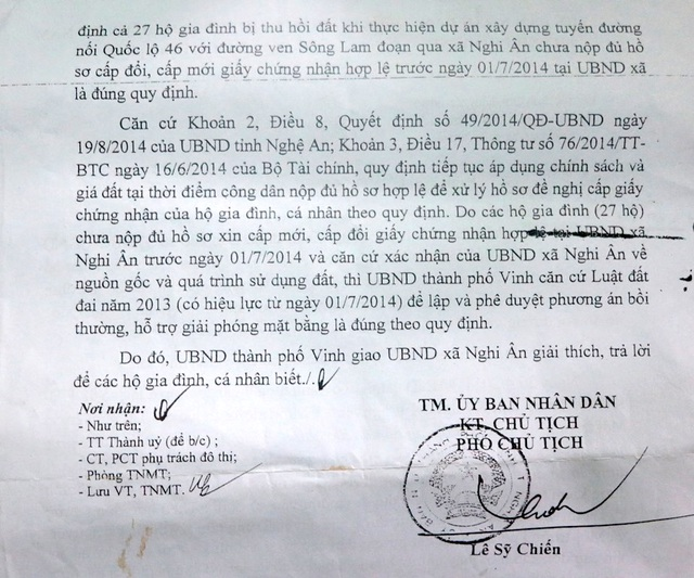 Nghệ An: Ban tuyên giáo Tỉnh ủy chỉ đạo xử lý thông tin Báo Dân trí đăng tải! - 3