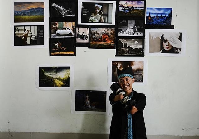 Achmad Zulkarnain không muốn người khác nhìn ảnh để nghĩ về cơ thể khiếm khuyết của anh mà là nhìn vào sự sáng tạo.