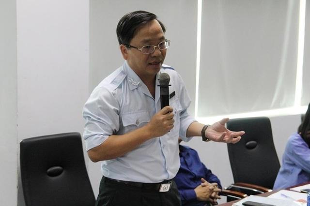 Ông Trương Công Nam, Phó Chánh thanh tra Sở Xây dựng TPHCM (Ảnh: H.Giang)