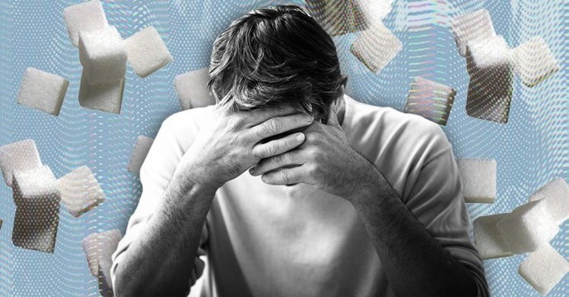 Nam giới ăn nhiều đường dễ bị trầm cảm và hay lo lắng - 1