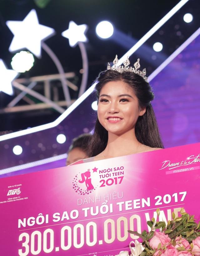 Nam Phương đăng quang cùng giá trị giải thưởng lên tới 300 triệu đồng.
