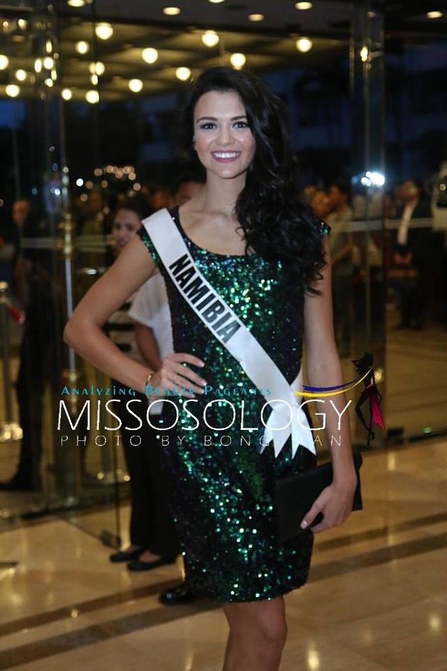 Lệ Hằng và các mỹ nhân khoe sắc trong tiệc tri ân Hoa hậu hoàn vũ 2015 - 67