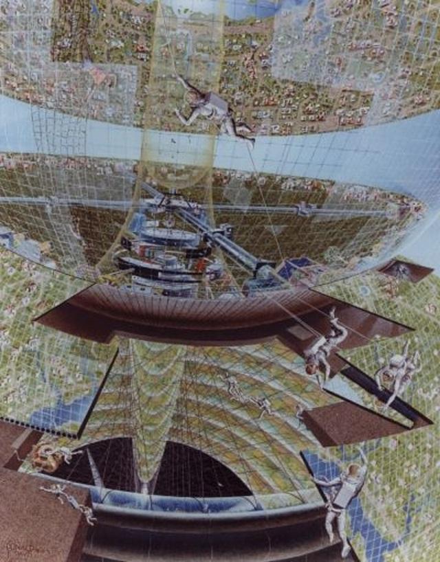 Việc xây dựng một trạm vũ trụ như thế này có thể gần như là một tham vọng không tưởng.