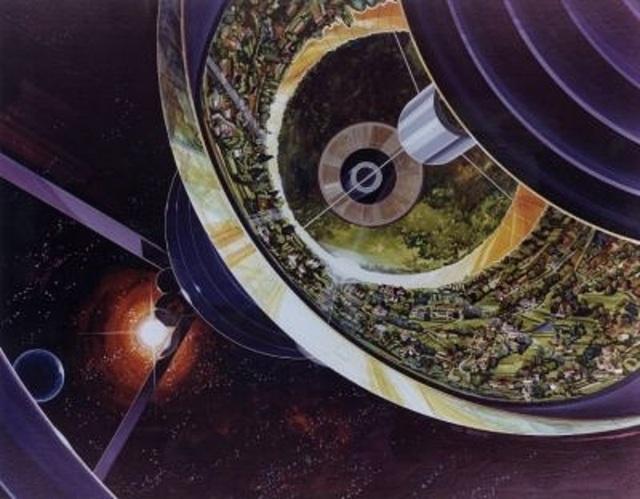 Hàng triệu tấn vật liệu sẽ được dùng để tạo ra trạm vũ trụ này.