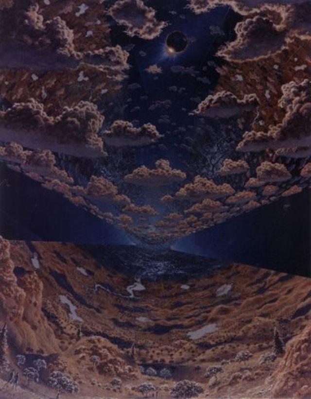 Bức tranh được vẽ từ những năm 1970, dưới dạng một phần của dự án giữa NASA và các nhà khoa học ở hai trường Đại học Princeton và Stanford.