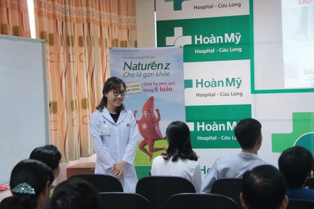 Naturenz phối hợp cùng Bệnh viện Hoàn Mỹ Cửu Long tổ chức CLB Gan Khỏe