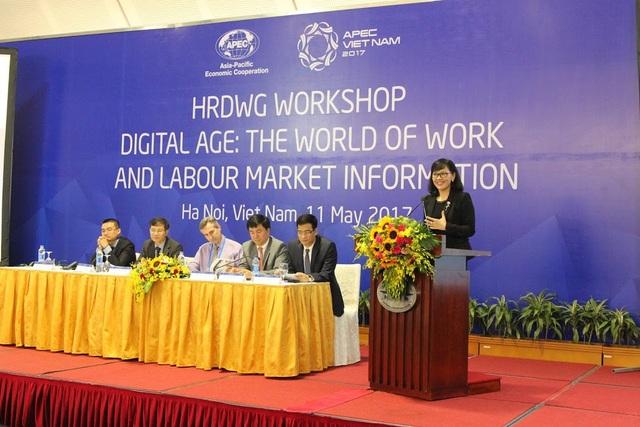 Đại diện Navigos phát biểu tại Hội nghị