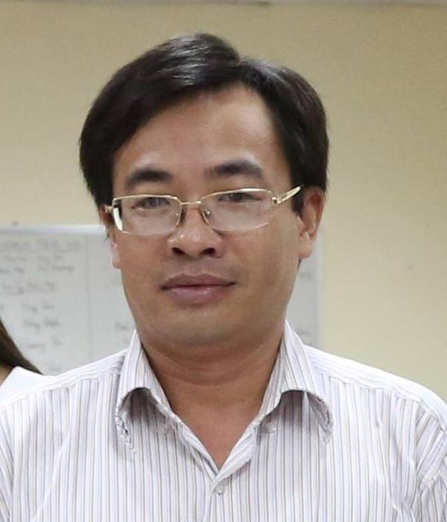 Nhà báo Đậu Huy Sáu - Trưởng Ban điện tử Thời báo Tài chính điện tử.
