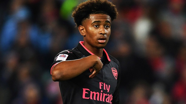 Tài năng trẻ với 17 tuổi Reiss Nelson của Arsenal