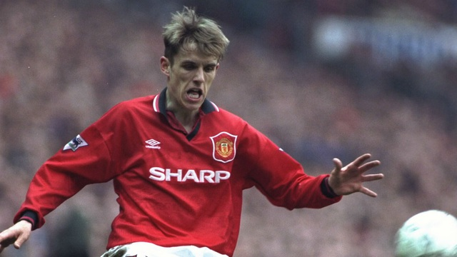 Phil Neville có 11 năm gắn bó với Quỷ đỏ