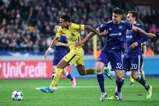 PSG sẽ hủy diệt Anderlecht để giành vé đi tiếp