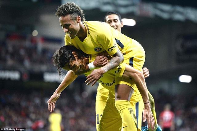 Neymar rực sáng trong trận ra mắt PSG