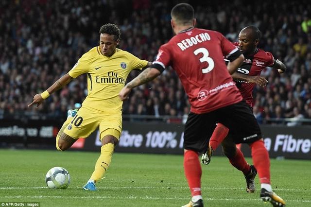 Neymar nhanh chóng chứng minh tầm ảnh hưởng ở PSG