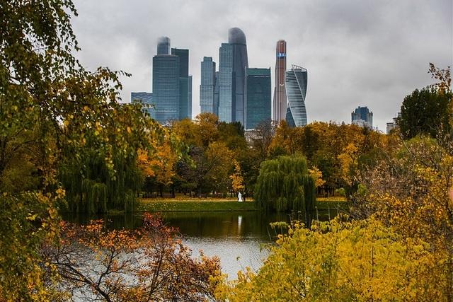 Những tòa nhà chọc trời ở Moscow. (Ảnh: TASS)