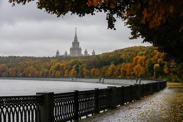 Một góc thủ đô Moscow. (Ảnh: TASS)