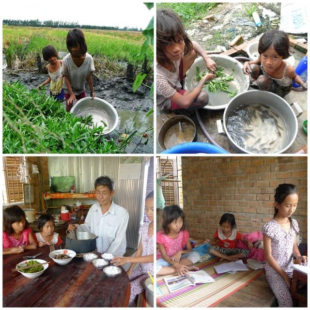 Do cuộc sống quá khó khăn, ông nội của ba chị em Ngà già yếu nên các em lo sợ một ngày phải bỏ học