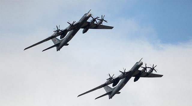 Các máy bay ném bom chiến lược tầm xa Tu-95MS của Nga. (Ảnh: Sputnik)