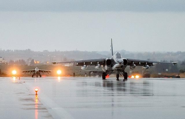 Các máy bay chiến đấu của Nga (Ảnh: TASS)