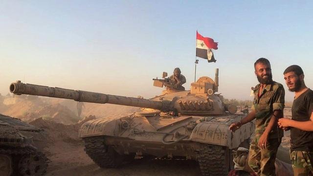 Với sự hỗ trợ của Nga, quân đội Syria đã đẩy lùi các nhóm khủng bố và giành lại quyền kiểm soát lãnh thổ. (Ảnh minh họa: Sputnik)