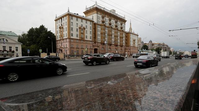 Trụ sở đại sứ quán Mỹ tại Nga (Ảnh: RT)