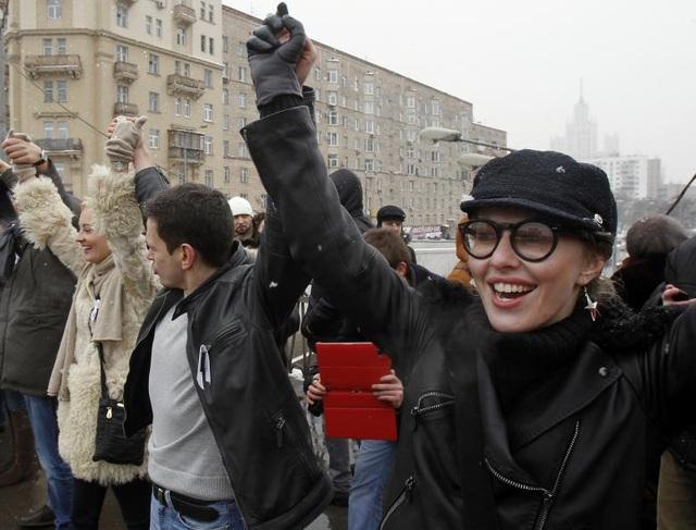 Người dẫn chương trình truyền hình nổi tiếng của Nga cho biết cô không kỳ vọng sẽ đánh bại Tổng thống Putin trong cuộc bầu cử vào đầu năm sau, song cô muốn các cử tri Nga có thêm một lựa chọn.