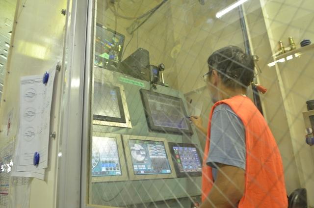 Trung tâm điều khiển máy đào TBM
