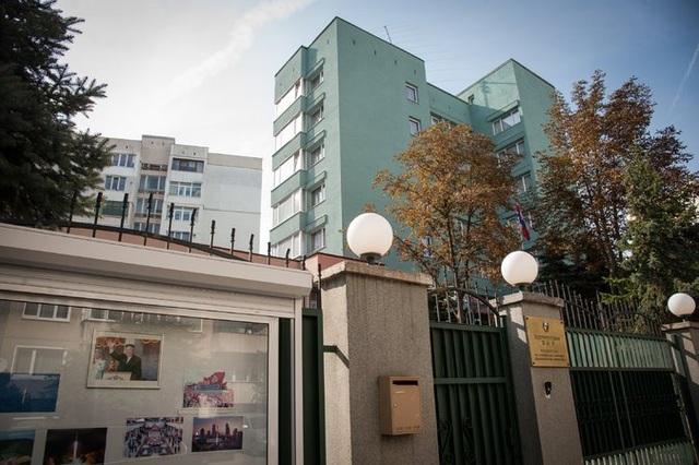 Đại sứ quán Triều Tiên tại Bulgaria (Ảnh: NYT)