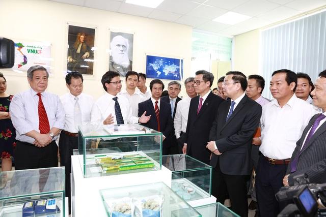 Lễ Ký kết phối hợp hoạt động song phương là một trong nhiều hoạt động thiết thực chào mừng Ngày Khoa học và Công nghệ Việt Nam lần thứ 4 (18/5/2016). (Ảnh: Bùi Tuấn)